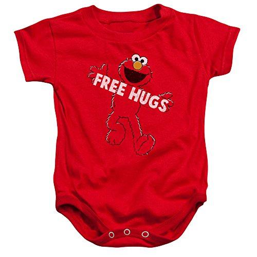 Sesame Street - Barboteuse - Bébé (garçon) - rouge - 18 mois