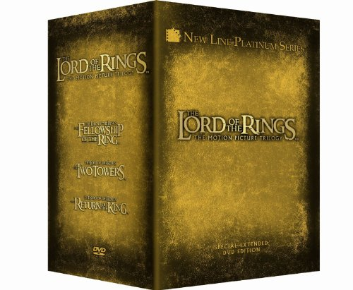 The Lord of the Rings - Platinum Series Special Extended Edition: (The Return of the King / The Two Towers / The Fellowship of the Ring)