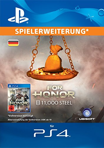 For Honor 11.000 Steel Credits Edition DLC [PS4 Download Code - deutsches Konto]