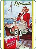 Calendario perpetuo Vintage CocaCola 'Refrescante'
