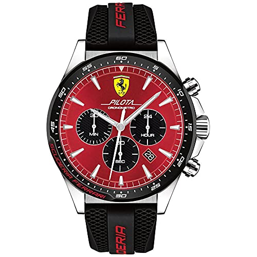 Scuderia Ferrari Analog Red Dial Men's Watch-0830595