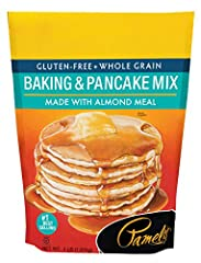 Pack of three bags (total of 192-ounces) Gluten free baking and pancake mix To prevent bags from exploding during delivery, the manufacturer has added two food-grade pin holes on each bag during production Product of USA. No added sugar Ships in Cert...
