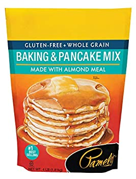 Pamela s Products Gluten Free Baking and Pancake Mix Unflavored 64 Oz