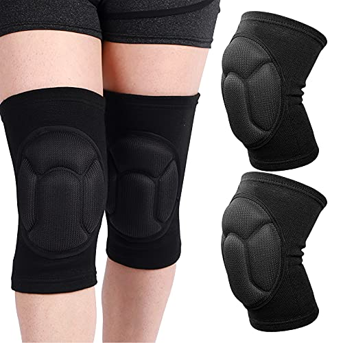 Knee Pads for Graden Work, Kneeling Pads Gardening KneePads, Construction Knee Pads Flooring and Roofing Knee Pads with Thick Foam Padding for Men Women House Cleaning Construction Gardening Work