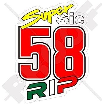 Speedwerk Motorwear 469 Start Number Nicky Hayden Rossi Moto Gp Sticker Auto