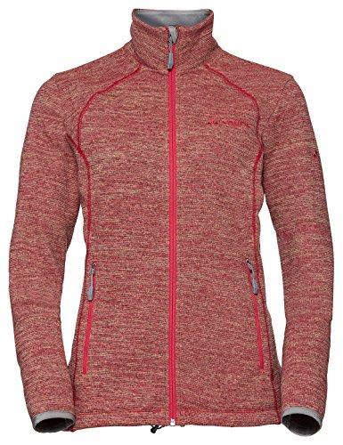 VAUDE Women's Rienza Jacket II, Fleecejacke Veste Femme, Gerbera, 46