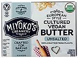 Miyokos Creamery, Butter Unsalted Cultured Vegan Organic, 8 Ounce