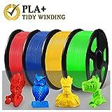 【Enotepad Filament Mejorado Tidy Winding】Enotepad mejoró los vientos de filamento PLA Plus(PLA+) capa por capa formando un devanado extremadamente limpio.Esto asegura un flujo constante de fluido de filamento y evita la impresión a mitad de camino de...