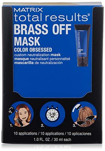 Matrix Total Results Brass Off Custom Neutralization Mask 10 unidades