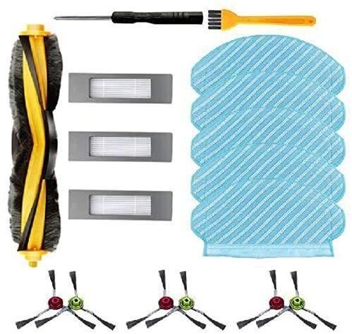 NLRHH Bürstenfilter 15 Stück für OZMO 950 920 Seitenbürste Filter Roller Bürste Mop Zubehör
