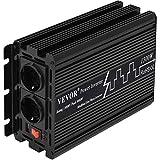 Mophorn Inversor de Corriente 12V DC a 230V AC Inversor de Corriente para Coche con Potenc...