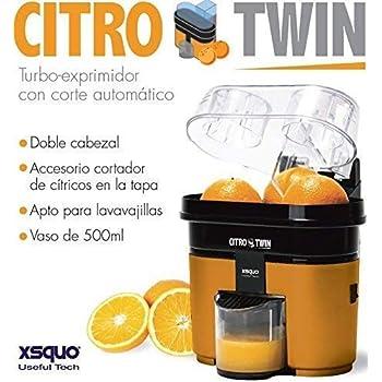 Cecotec Cecojuicer Zitrus Turbo - Exprimidor, 2 Cabezales ...