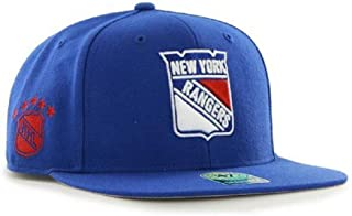 47 Brand. NHL New York Rangers Sure Shot Snapback Hat - All Royal