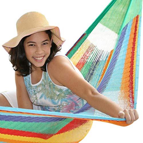 Leguana Handel GmbH - Hamaca mexicana, número 4 colores