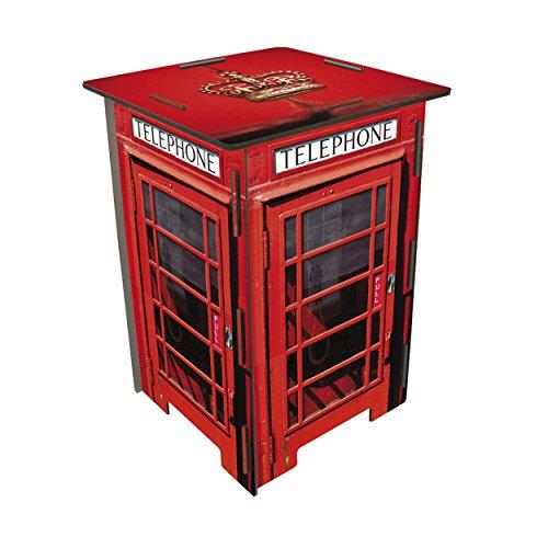 Werkhaus PHOTOHOCKER Telefonzelle London ca. 29,5 x 29,5 x 42 cm