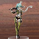 WISHVYQ Sword Art Online Sword Art Online Modelo de Anime Asada Shino Asada Shino Modelo Figura en Caja Versión Escultura Decoración Estatua Muñeca Modelo Altura 22cm