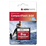 AgfaPhoto High Speed MLC 120x - Tarjeta de Memoria CompactFlash de 8 GB