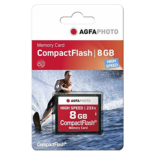 AgfaPhoto High Speed MLC 120x - Tarjeta Memoria CompactFlash