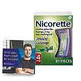 Nicorette 4mg Mini Nicotine Lozenges to Help...
