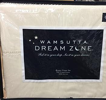 Wamsutta Dream Zone Queen Sheet Set Ivory Cream 750 Thread Count