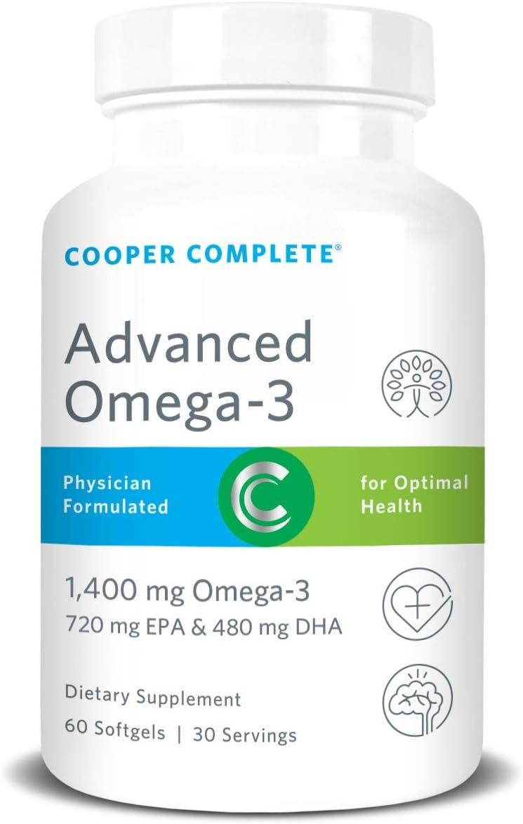 Cooper Complete - Advanced Omega 3 Max 64% OFF Super intense SALE Oil Fish Supplement Concen