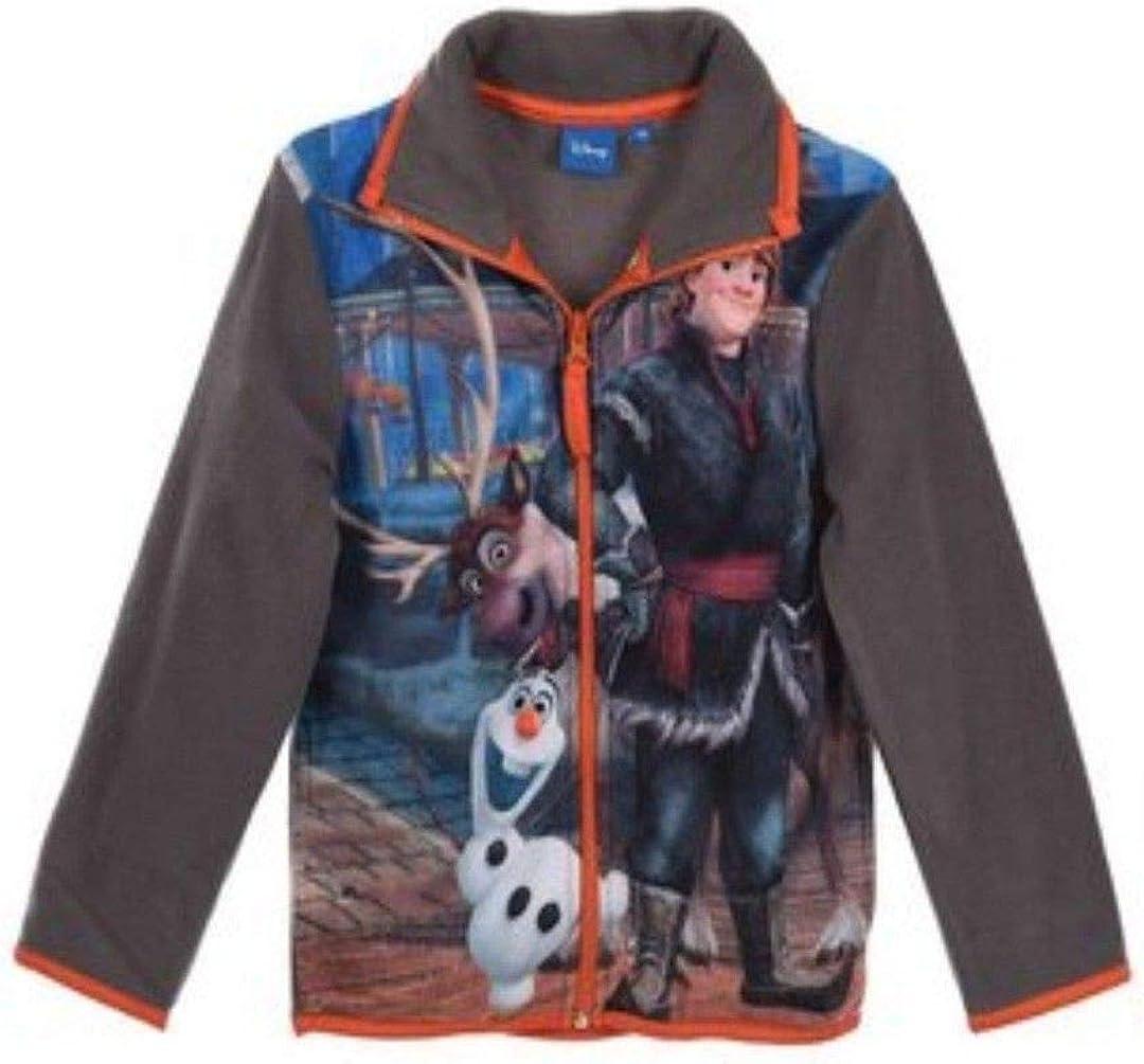 Disney Olaf Frozen Boys Polar Fleece Sweatjacket - 5 Years - Grey
