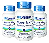 Life Extension Neuro-mag Magnesium L-threonate 90 X 3...