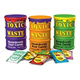 TOXIC WASTE   3-Pack Toxic Waste Special Edition Drums of Assorted Sour Candy - 5 Flavors and 1 NEW Mystery Flavor (1.7 oz)