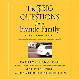The Three Big Questions for the Frantic Family cover art