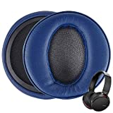 Linkidea Earpads Replacement Ear Pads for Sony MDR-XB950BT MDR-XB950N1 MDR-XB950B1 MDR-XB950AP MDR-XB950/H Headphone Memory Foam Ear Pad Cushion Covers Earpad (Navy Blue)