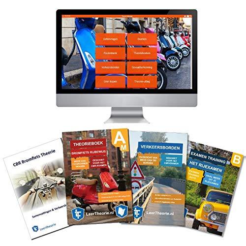Bromfiets Theorieboek Rijbewijs Am 2020 | Bromfiets Theorieboek | Scooter Theorie Samenvatting | Verkeerborden overzicht | Praktijk informatie | CBR Scooter Theorie Leren en Oefenen