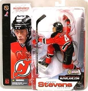 McFarlane Toys NHL Sports Picks Series 3 Action Figure Scott Stevens (New Jersey Devils) Red Jersey
