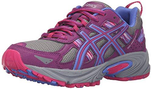 Asics Gel-Venture 5 Trail Runner - Zapatillas de Running para Mujer, Color Gris, Talla 38.5 EU
