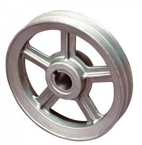 Riemenscheibe für Druckluft Keilriemen Kompressoren 70mm / Bohrung 19