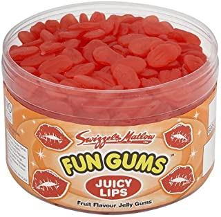 British Retro Sweets Fun Gums Juicy Lips 600 Pieces