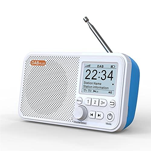 UNCOTARILY Tragbares DAB Radio, C10 2,4...