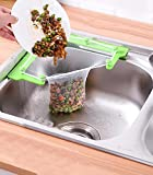 WERJO&FOUSA Sink Strainer Bag,Triangle Sink Strainer Bags,Disposable Sink Filter Fine Mesh Bags Kitchen Sink Storage Holder Sink Garbage Bags for Kitchen Leftovers Food Residue Filter
