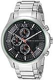 Armani Exchange Men's AX2163 Silver Watch