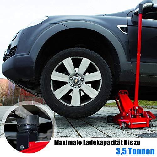 Nefeeko Wagenheber Gummiauflage,Universelle Gummiauflage Rangierwagenheber für Wagenheber und Hebebühnen, Schützt Auto SUV PKW LKW vor Kratzern(1 Pack)