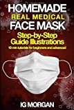 HOMEMADE REAL MEDICAL FACE MASK: How to make a Medical Face Mask in 10 minutes...
