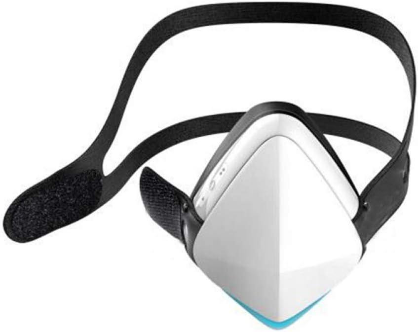 Máscara eléctrica Inteligente Anti-Niebla y máscara Negra a Prueba de Polvo con válvula Transpirable