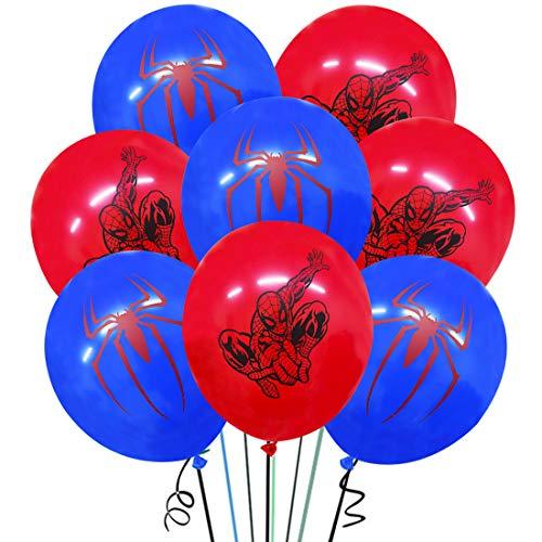 Globos Látex YUESEN Decoración Fiesta Cumpleaños 30PCS Personajes Películas Animación Dibujos Animados, Fanáticos Las Fiestas Temáticas Con 3 Bobinas Adecuado para Cumpleaños de niño