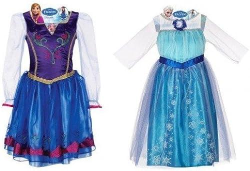 Disney Frozen Elsa and Anna Dress Combo Pack (Größe 4-6x)