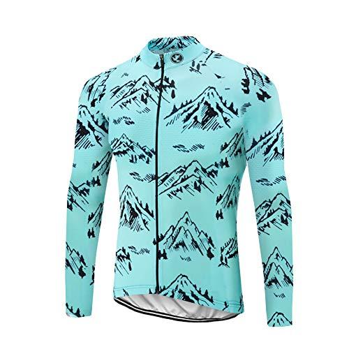 Uglyfrog Pro Maillot de Cyclisme Manches Longues Set Pantalons Homme Hiver Thermique Cyclisme Vêtements Respirant ZRML07