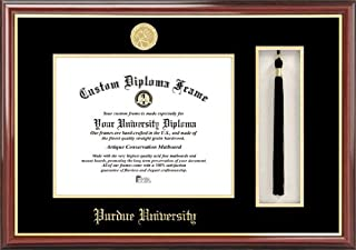 Campus Images NCAA Purdue University 9.625 x 7.625 Inches Tassel Box and Diploma Frame