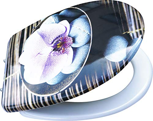 Primaster TrendLine WC-Sitz Orchidee Duroplast, mit Absenkautomatik