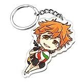 Haikyuu Keychain,Anime Keychain Plush,Cute Acylic Anime Merch for Haikyuu Fanghua Cosplay for Adult Kids