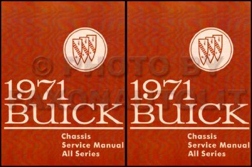 1971 Buick Repair Shop Manual Original GS/Skylark/Riviera/LeSabre