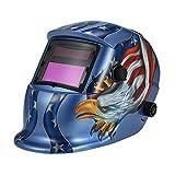KKmoon Arc Tig Mig Grinding Eagle, Máscara de soldador de soldador de oscurecimiento...
