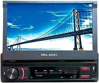 Belson BS-12133BTV2 negro Radio CD MP3 con RDS FM//AM puerto USB lector de tarjetas SD y manos libres Bluetooth